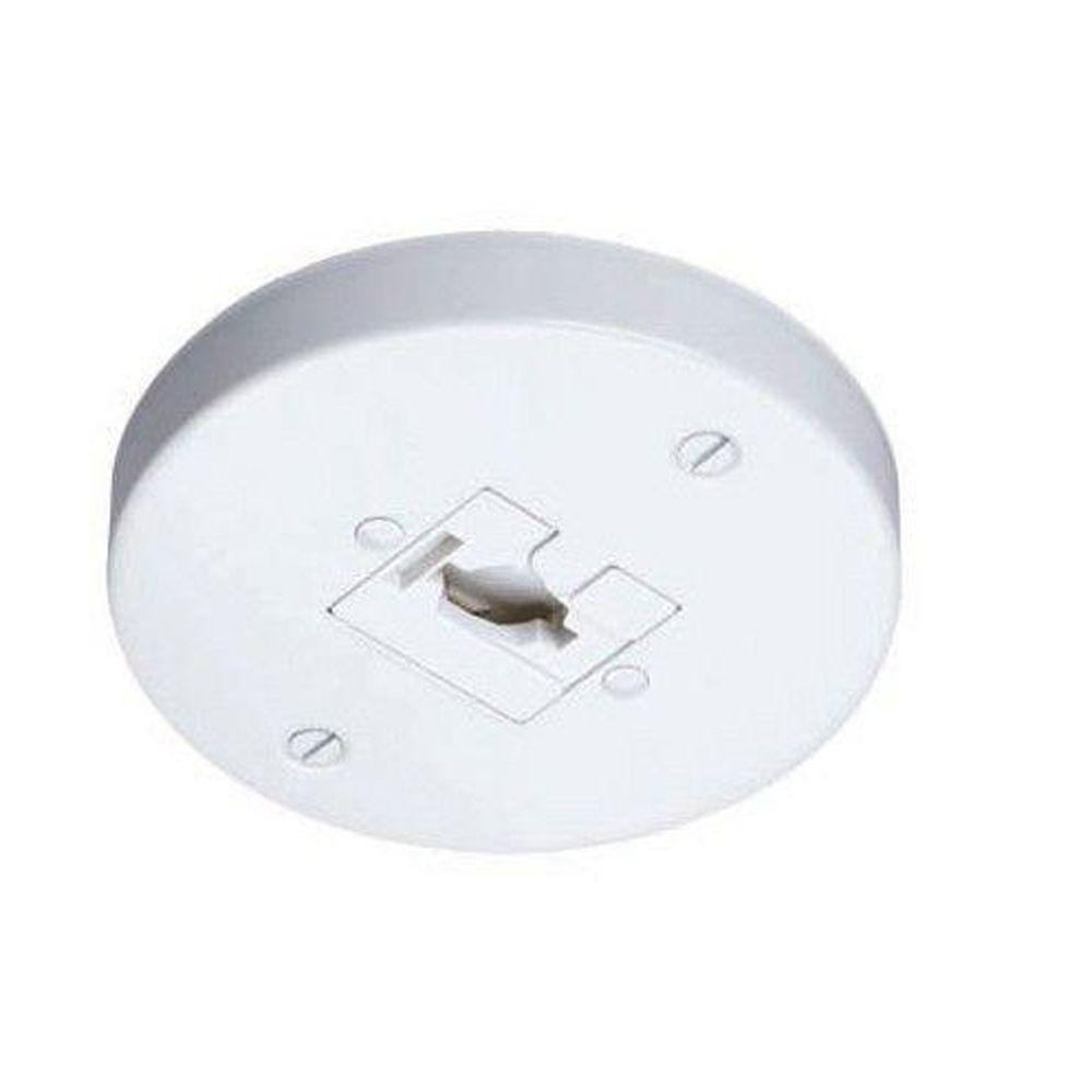 sc 1 st  The Home Depot & Juno Trac-Lites Line Voltage Monopoint-R40N WH - The Home Depot
