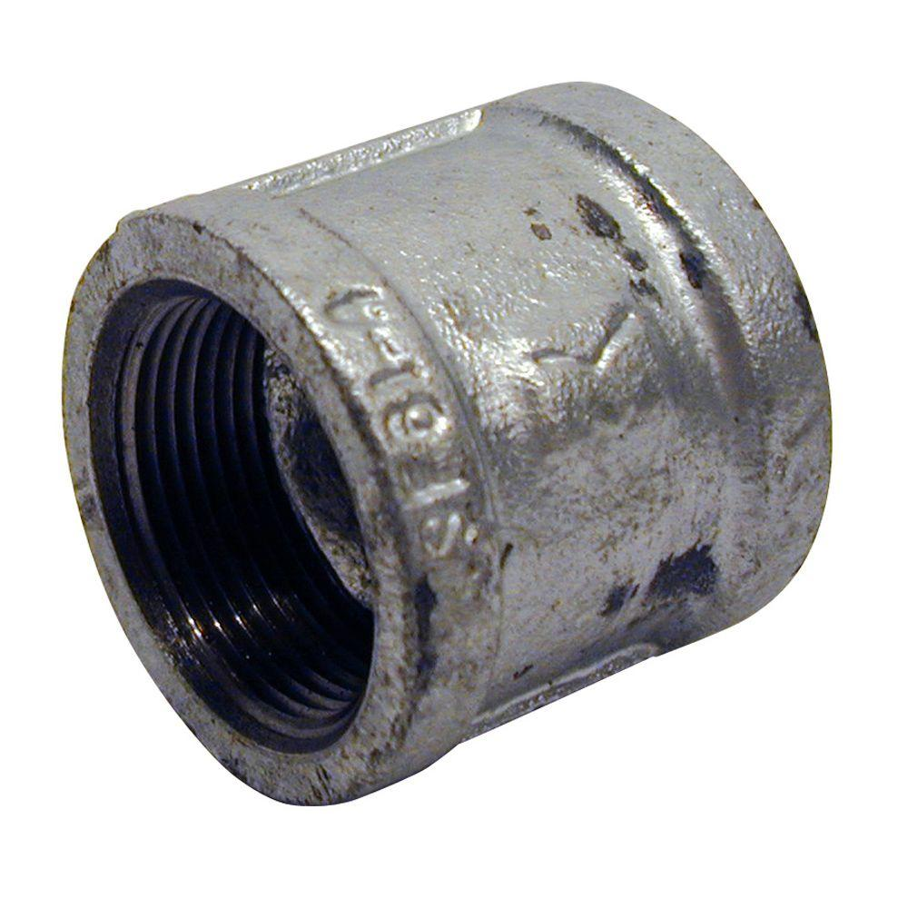 1/2 in. Galvanized Malleable Iron FPT x FPT Coupling