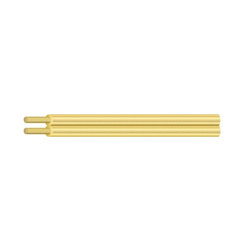 Southwire (By-the-Foot)18/2 Gold Stranded CU SPT-1 Lamp Wire
