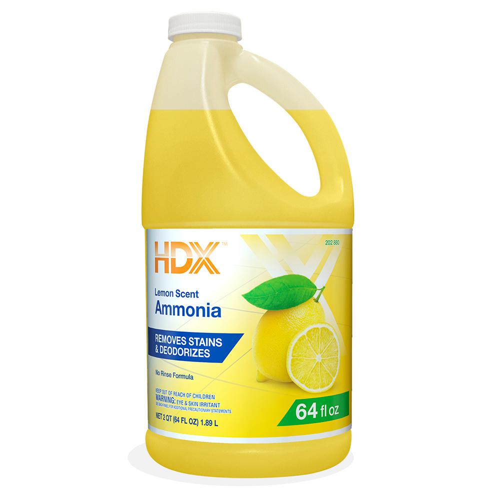 HDX 64 oz  Lemon Ammonia