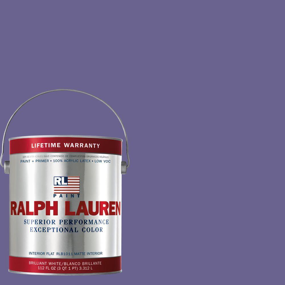 Ralph Lauren 1-gal. Greenwich Purple Flat Interior Paint