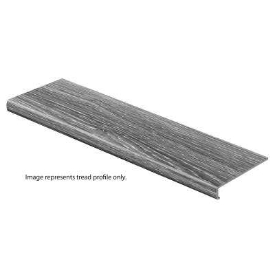 Tekoa Oak 47 in. Length x 12-1/8 in. Deep x 2-3/16 in. Height Vinyl Overlay to Cover Stairs 1-1/8 in. to 1-3/4 in. Thick