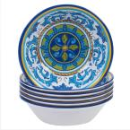 Lucca Multicolor All Purpose Bowl (Set of 6)