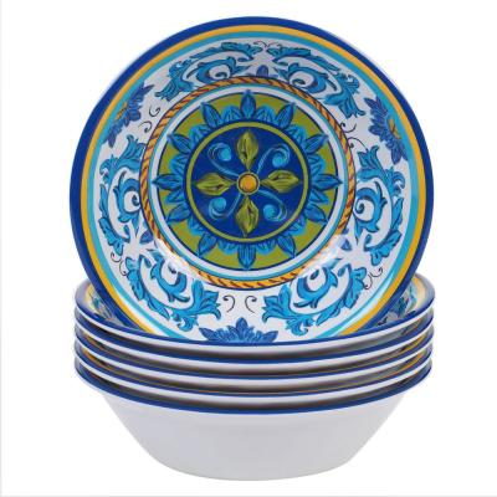 Lucca Multicolor All Purpose Bowl (Set of 6)