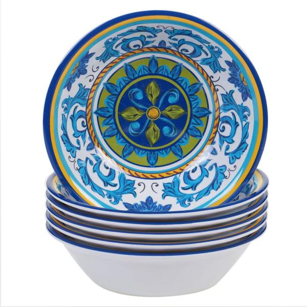 Certified International Lucca Multicolor All Purpose Bowl (Set of 6)