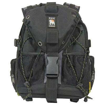 Black Small DSLR and Notebook Backpack