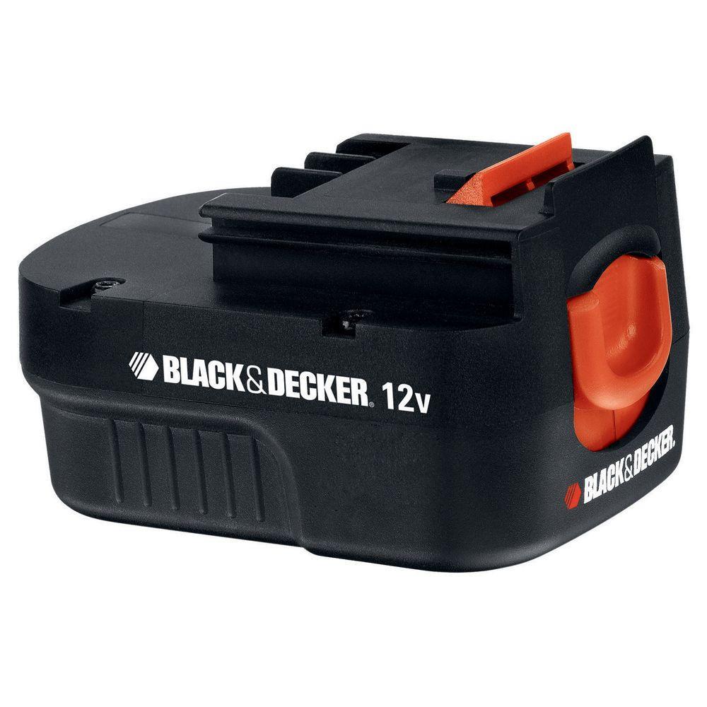 Black Decker Hpb  Volt Slide Pack Battery Home Depot