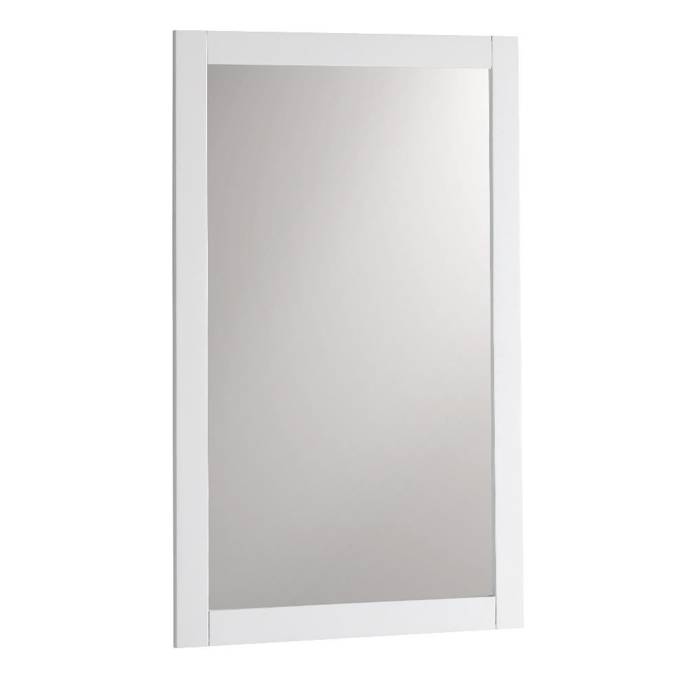 Bradford 20 in. W x 30 in. H Framed Wall Mirror