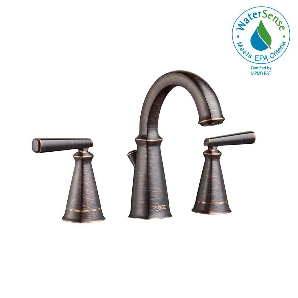 American Standard Edgemere 8 in. Widespread 2-Handle Bathroom Faucet ...