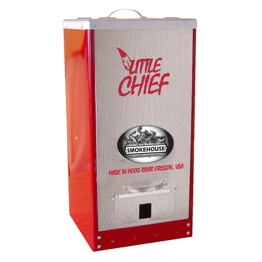 Smokehouse Little Chief Front Load Smoker Red