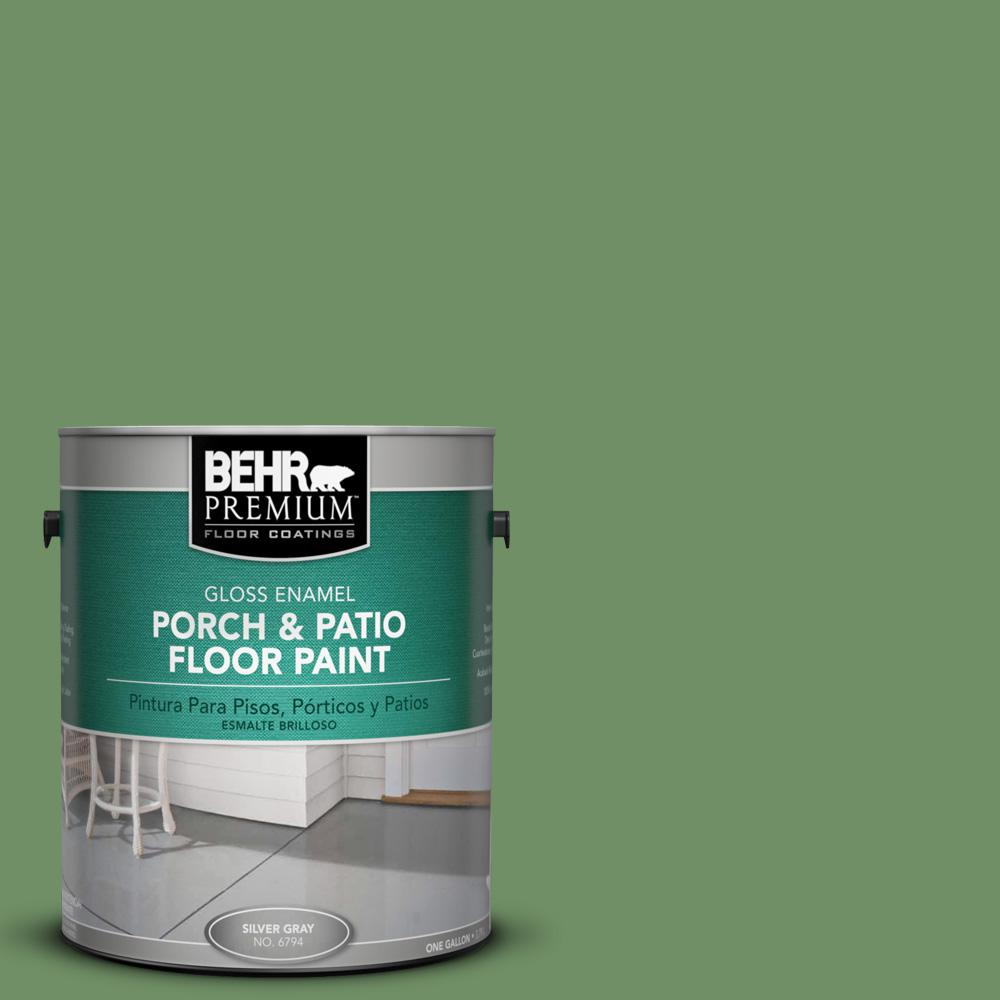 1 gal. #M400-6 Mixed Veggies Gloss Porch and Patio Floor Paint