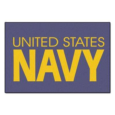 U.S. Navy 4 ft. x 6 ft. Area Rug