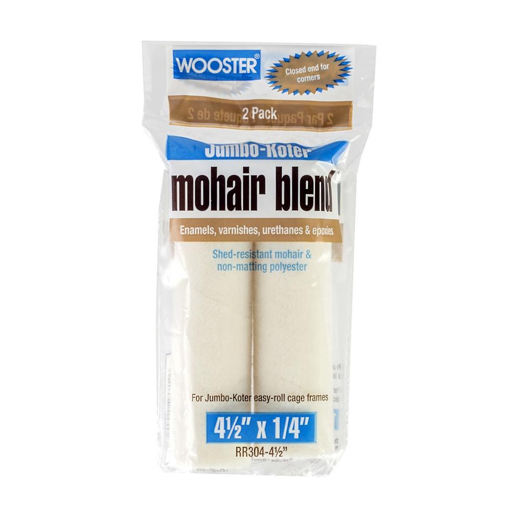 4-1/2 in. Jumbo-Koter Mohair Roller (2-Pack)