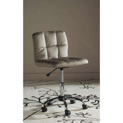 Brunner Grey Faux Leather Office Chair