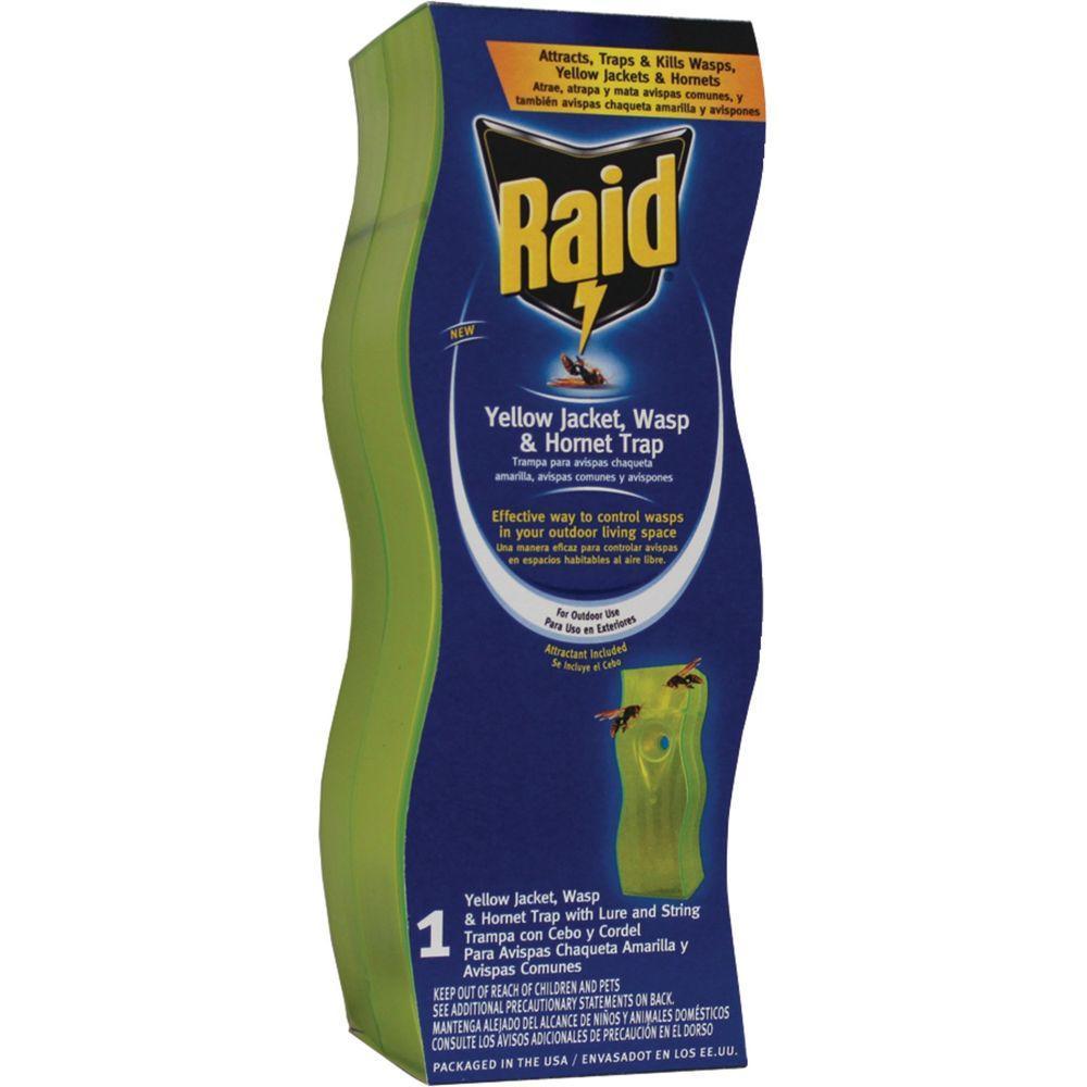 Raid Swing Yellow Jacket and Wasp Trap (2-Packs) by Raid