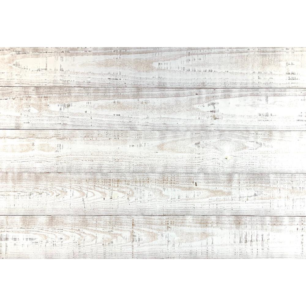 Easy Planking Thermo-treated 1/4 in. x 5 in. x 4 ft. White Barn Wood Wall Planks (10 sq. ft. per 6 Pack)