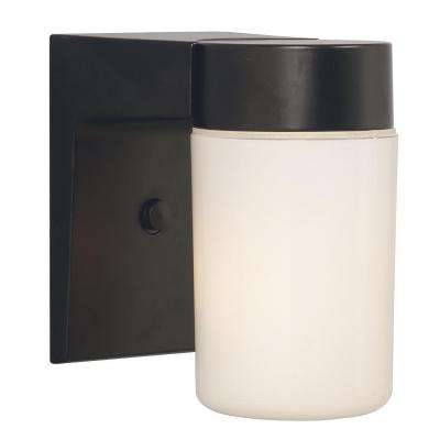 Negron 1-Light Oil-Rubbed Bronze Outdoor Sconce