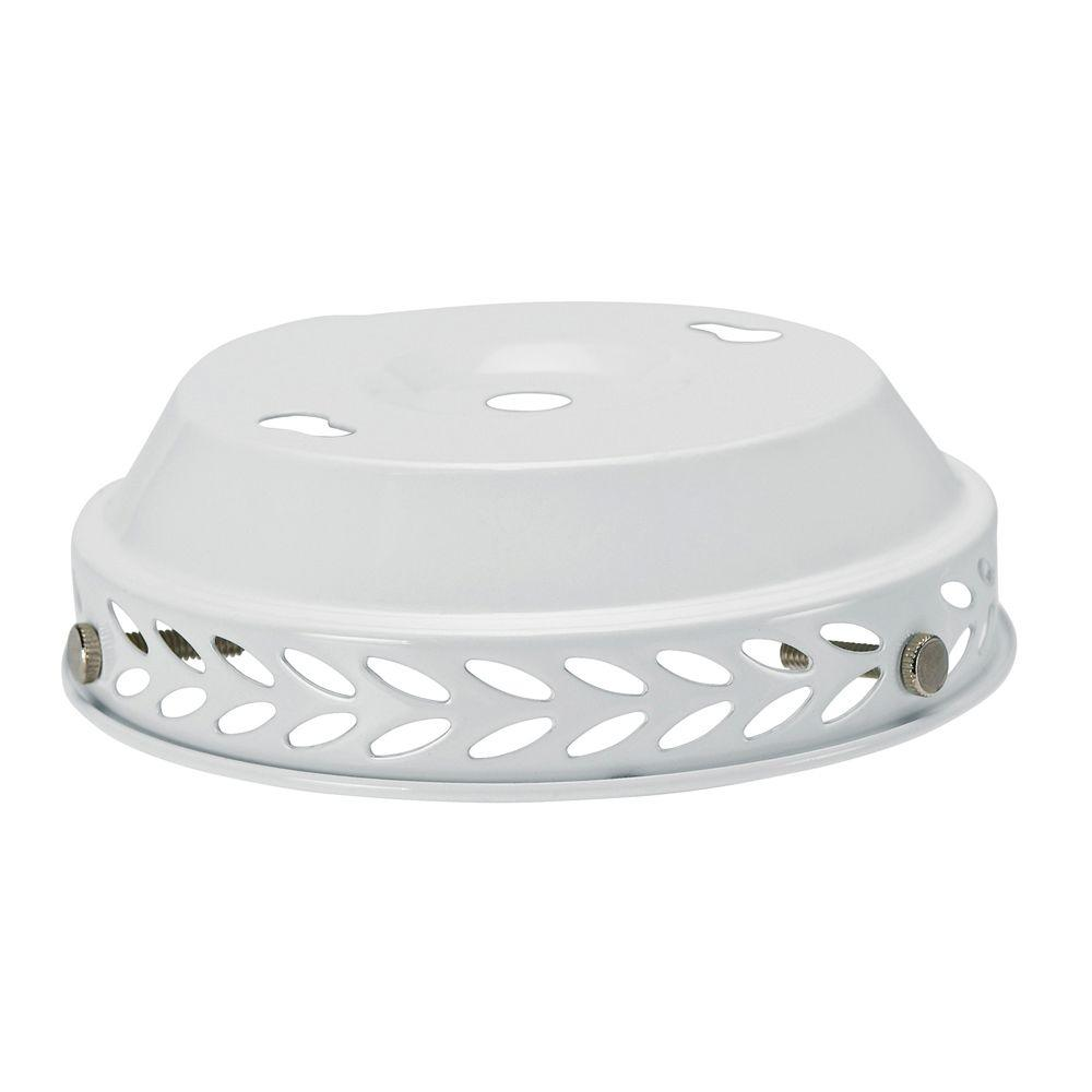 Hunter White Globe Adapter Kit with 19-Watt CFL Bulb Included-DISCONTINUED