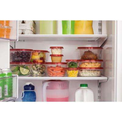 TakeAlongs 40-Piece Food Storage Container Set in Red