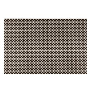 Kraftware EveryTable Black and Yellow Weave Placemat (Set of 12) by Kraftware
