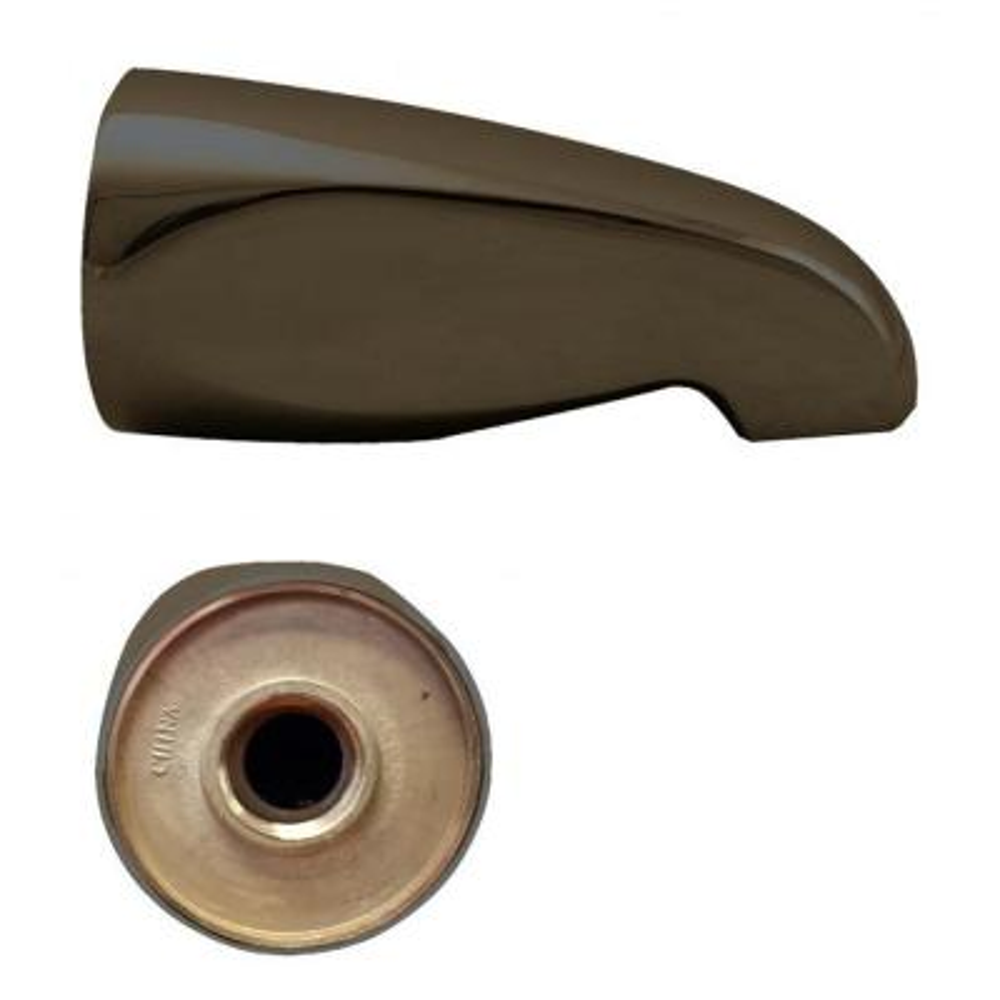 5-1/2 in. Brass Standard Tub Spout in Oil Rubbed Bronze