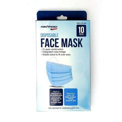 Disposable Face Masks (10-Pack)