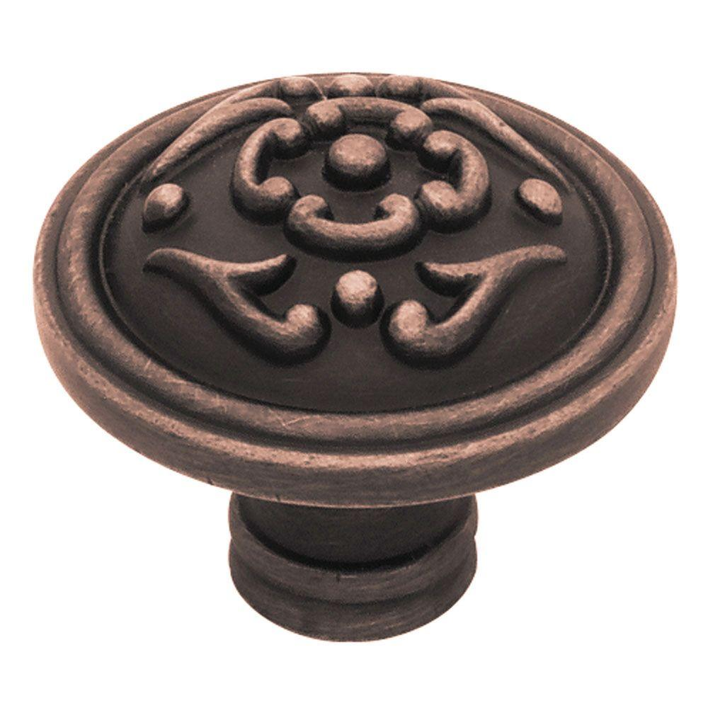 Liberty French Romantics 1-1/2 in. Venetian Bronze French Lace Cabinet Knob