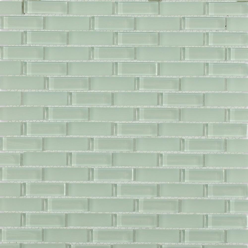 Splashback Tile Contempo Seafoam Brick 12 In X 12 In X 8