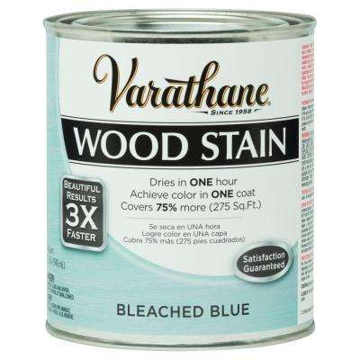 1 qt. 3X Bleached Blue Premium Wood Interior Stain (Case of 2)