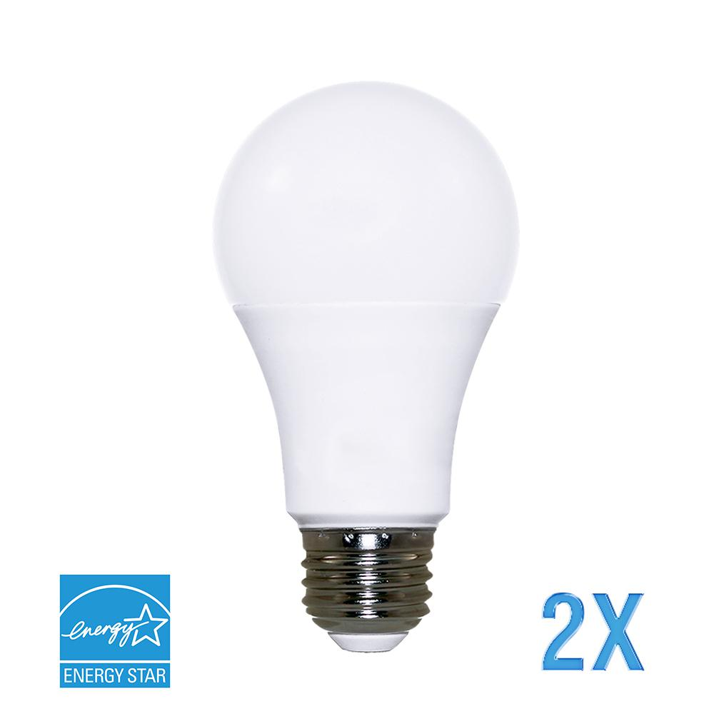 Philips 60w Equivalent Vintage Soft White A19 Dimmable Led Light Bulb 461632 The Home Depot