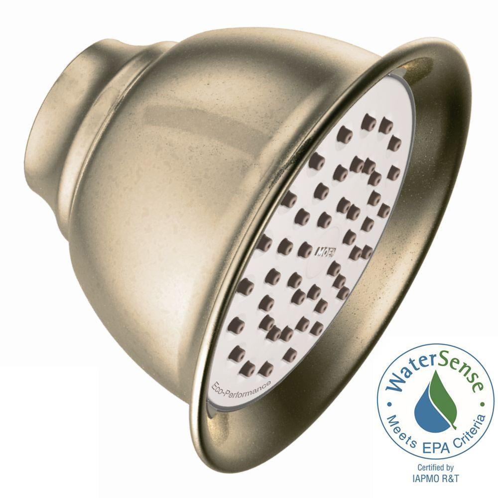 MOEN Eco-Performance 1-Spray 4-3/8 in. Showerhead in Antique Bronze