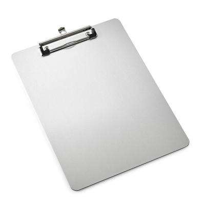 8.5 in. x 11 in. Slim Profile Aluminum Clipboard