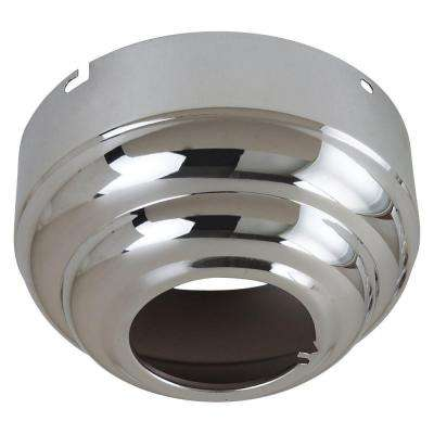 Ceiling Fan Canopies Collection Chrome Slope Ceiling Adapter