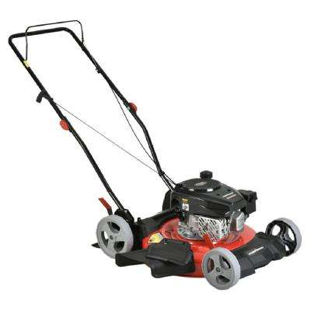 21 in. 2-in-1 170cc Gas Walk Behind Push Lawn Mower