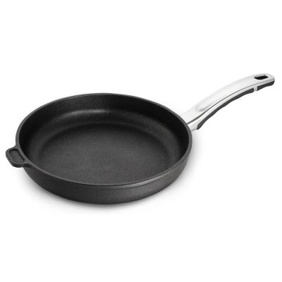 Earth Professional Series 10 in. Aluminum Ceramic Nonstick Frying Pan in Onyx with Comfort Grip Handle