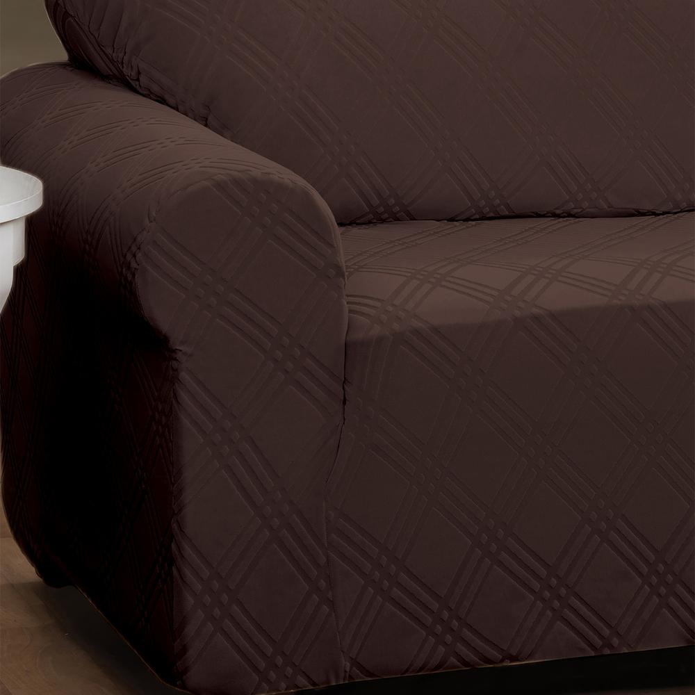 Red Barrel Studio Double Diamond Box Cushion Recliner 4 Piece Slipcover Furniture Uniforce Home Garden