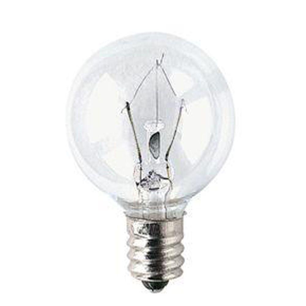 15-Watt (15W) Krypton Incandescent Light Bulb (10-Pack)