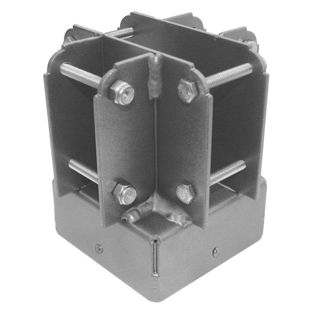 Yardistry 4 in. x 4 in. Aluminum Post Top Connector