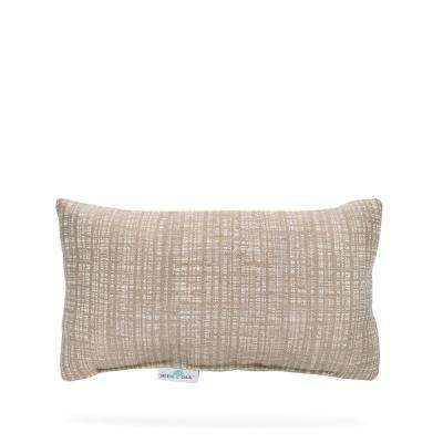 Outdura Mia Dune Rectangular Lumbar Outdoor Throw Pillow (2-Pack)