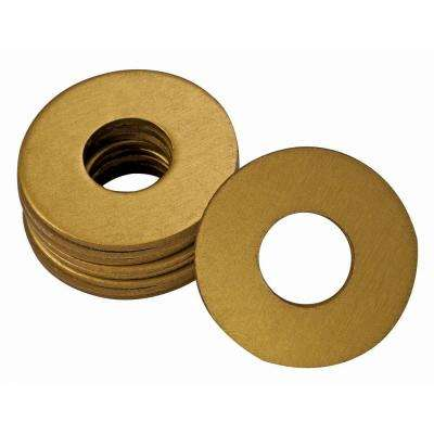 UltraView 1/4 in. x 28 in. Grease Fitting Washers in Gold (25 per Bag)