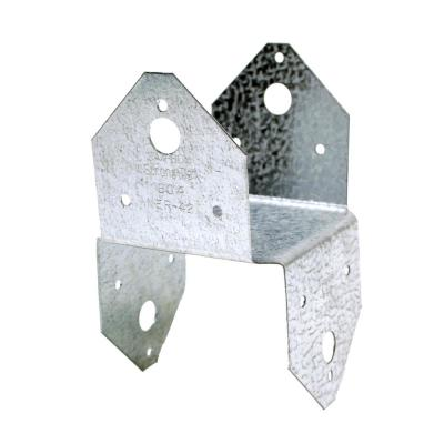 BC Galvanized Post Cap for 4x Nominal Lumber