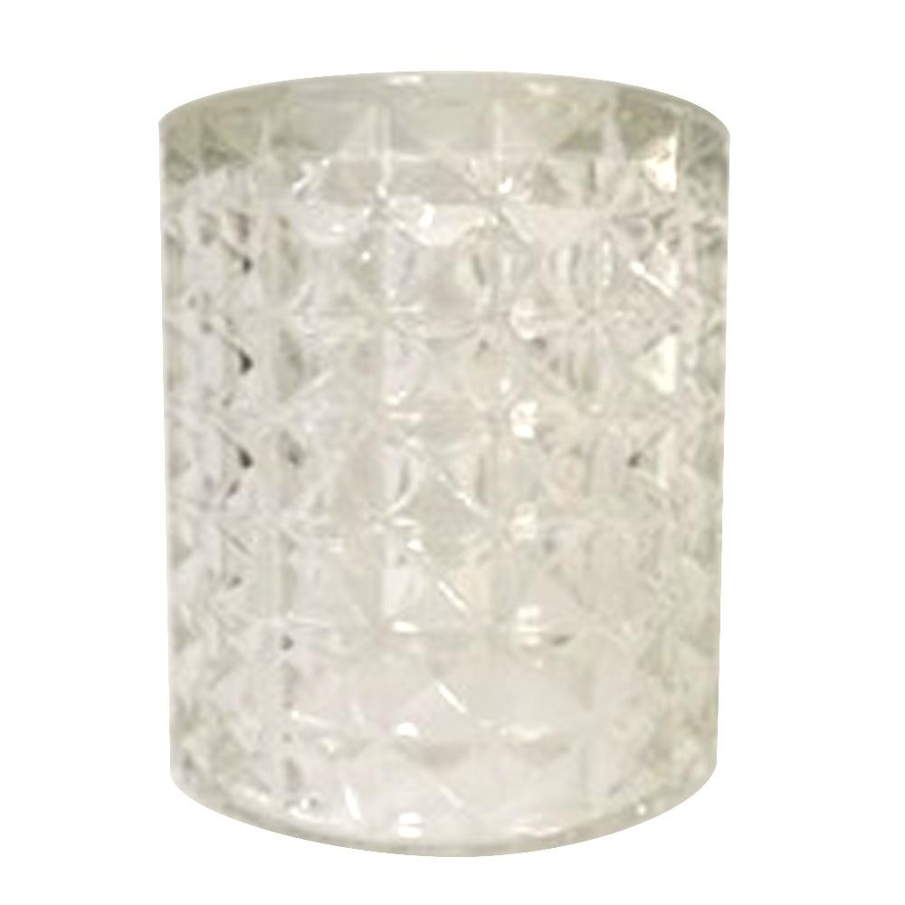 4-3/4 in. Diamond Cut Cylinder Shade with 2-1/4 in. Fitter and