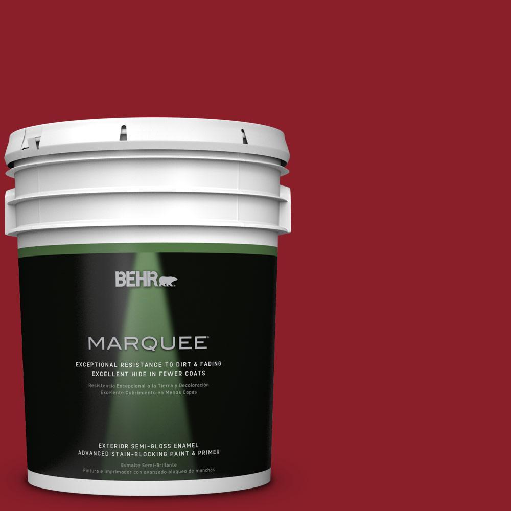 5-gal. #ECC-32-3 Cherry Tree Semi-Gloss Enamel Exterior Paint