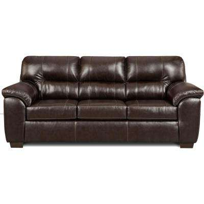 Tahoe 3-Piece Chocolate Living Room Set (Sofa, Loveseat and Recliner)
