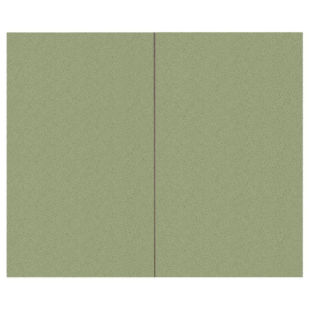 44 sq. ft. Eucalyptus Fabric Covered Top Kit Wall Panel