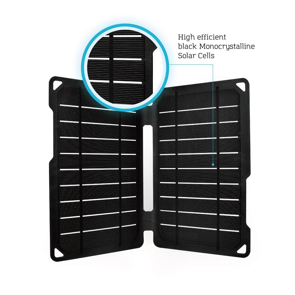 Renogy E Flex 10 Watt Portable Monocrystalline Solar Panel