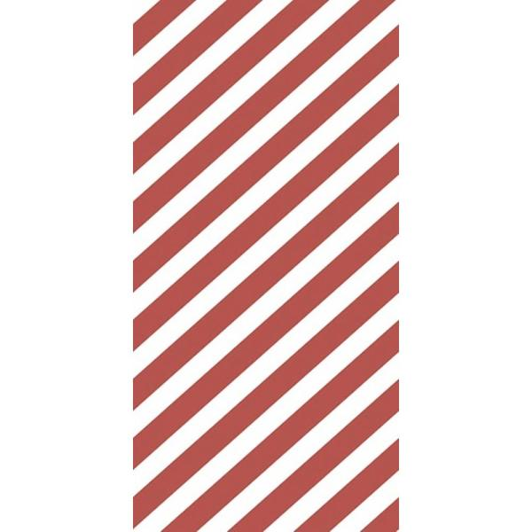 CGSignLab Diagonal Thick Lines by Circle Art Group Removable Wallpaper Panel