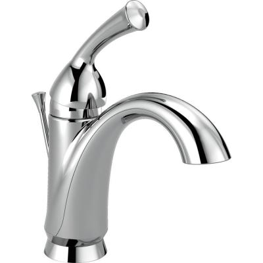 Haywood Single Hole Single-Handle Bathroom Faucet in Chrome