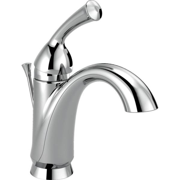 Haywood Single Hole Single-Handle Bathroom Faucet in Chrome