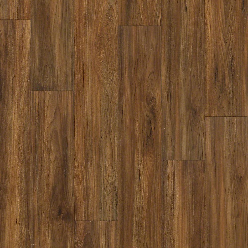 Alliant 7 in. x 48 in. Fireside Resilient Vinyl Plank Flooring (34.98 sq. ft. / case)